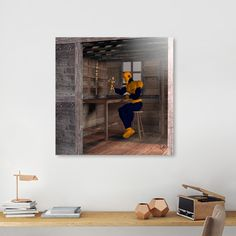 Discover «The Carpenter», Limited Edition Acrylic Glass Print by Fotios Pavlopoulos - From $99 - Curioos
