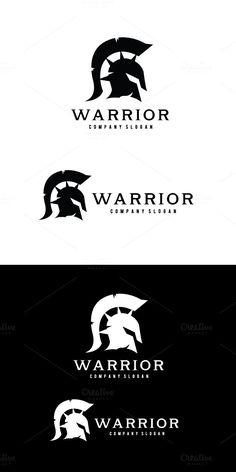 Warrior logo by Super Pig Shop on Creative Market