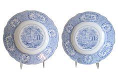 Ridgway Oriental Soup Bowls, Pair: retail $160, sale $79