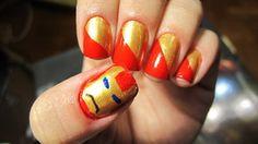 Super hero nails by ~ThaJuddy on deviantART