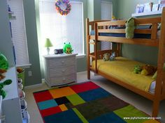 Joyful Homemaking: Shared Room for a Boy and Girl Boy And Girl Shared Bedroom, Shared Bedrooms, Kids Bedroom, Bedroom Ideas, Gender Neutral Bedrooms, Kids Room Design, Room Decor, Joyful, Homemaking