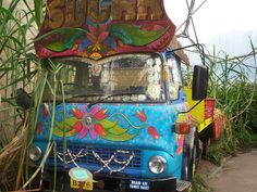 Indian truck. In Cornwall by A Simple Man, via Flickr