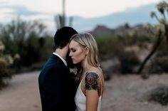 Boho Arizona Desert Dlopement