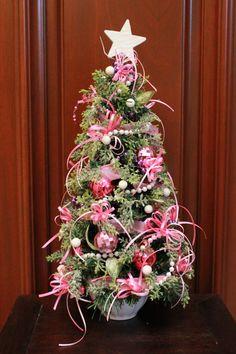 Tabletop Christmas Tree Pink Purple Xt16 44