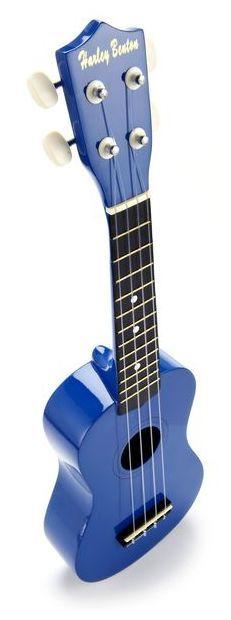 Harley Benton UK-12 Soprano Ukulele Blue - Thomann www.thomann.de #ukulele #blue #strings #hawai'i #alaoha
