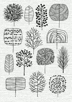 Tree designs                                                                                                                                                                                 More