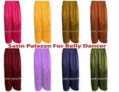 Satin palazzo Pant belly Dance Costume Long gypsy Palazzo Boho Pant Women in Clothing, Shoes & Accessories, Dancewear, Adult Dancewear, Belly Dancing Belly Dance Belt, Tribal Belly Dance, Belly Dancers, Womens Maxi Skirts, Long Maxi Skirts, Dance Outfits, Dance Dresses, Skirt Suit Set, Dance Pants