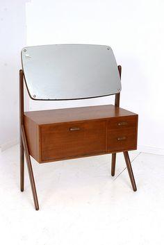 Danish made dressing table by oldschool bespoke., via Flickr