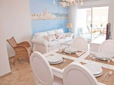 Delicious - Blausitges Sitges Situated 300 metres from Sitges Convention Bureau in Sitges, this apartment features a terrace with city views. The apartment is 1.9 km from Sitges-Aiguadol? Marina.