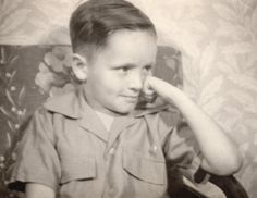 Charles Manson as a child
