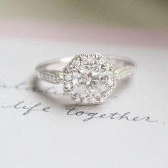 Let's do life together. #BrilliantEarth #EngagementRing