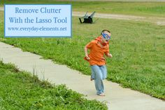 Remove unwanted clutter and objects from images with the lasso tool in PSE