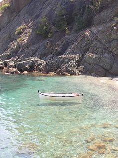 Bonassola carribean water, Italy