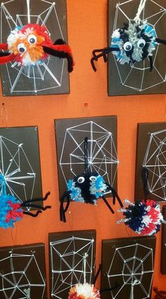 Craft Projects For Kids, Diy For Kids, Art Projects, Holidays Halloween, Halloween Crafts, Fall Crafts, Diy And Crafts, October Art, Art And Hobby