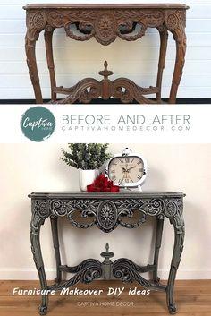 New Simple DIY Furniture Makeover and Transformation #furnitureideas