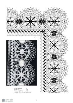 Лариса Тен - Photo from album Bobbin Lace Patterns, Weaving Patterns, Diy And Crafts, Arts And Crafts, Romanian Lace, Bobbin Lacemaking, Parchment Craft, Lace Making, Pattern Books