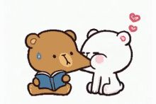 With Tenor, maker of GIF Keyboard, add popular Milk Mocha Bear animated GIFs to your conversations. Cute Bear Drawings, Funny Drawings, Cute Couple Cartoon, Cute Love Cartoons, Cartoon Gifs, Cute Cartoon Wallpapers, Gif Mignon, Gif Lindos, Cartoon Mignon