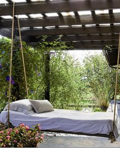 Here are the And Relaxing Outdoor Hanging Beds Home Ideas. This article about And Relaxing Outdoor Hanging Beds Home Ideas was posted under the Furniture category by our team at May 2019 at pm. Hope you enjoy it . Outdoor Lounge, Outdoor Hanging Bed, Outdoor Beds, Hanging Beds, Outdoor Rooms, Outdoor Living, Outdoor Decor, Hanging Table, Outdoor Projects