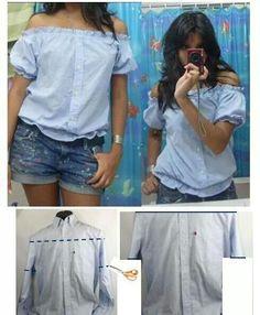 Reciclaje de camisa