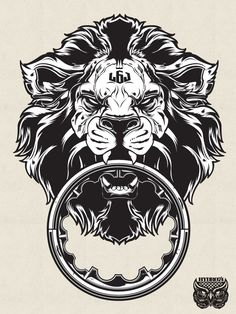 Lion art (Joshua M. Smith)