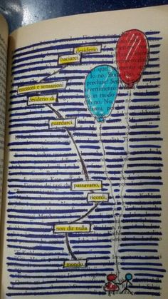 Book Page Art, Book Pages, Book Art, Art Therapy, Bullet Journal, Books, Creativity, Birth, Kids
