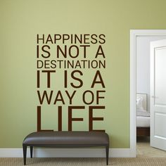 Wandtattoo - Happiness