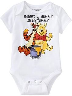 © Disney Winnie The Pooh & Tigger Bodysuits for Baby   Old Navy also for @lapu_lapu