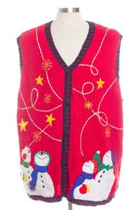 Red Ugly Christmas Vest 28318