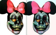 minnie mouse zombie by Artsie-Fartsie-Painr on DeviantArt