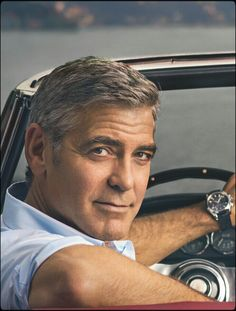 George Clooney Yes George I want to go for a ride, I mean drive.