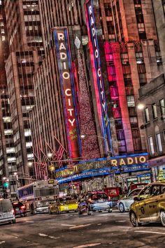 New York, NY. Radio City Music Hall