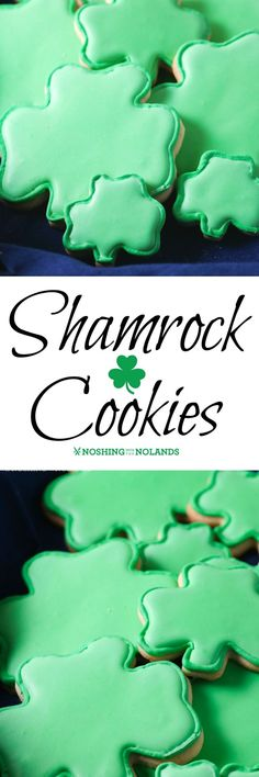 Shamrock Cookies by