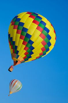 Hot Air Balloons in Traverse City, Michigan,Photo by Pamela Bevelhymer