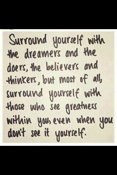 Greatness within you ...