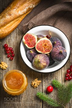 Christmas food by Arx0nt  IFTTT 500px autumn bowl brown close-up dessert dieting eating fig foods freshness fruit group heal