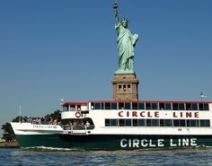 The Circle Line provides New York City's most famous boat tours that are dedicated only to sightseeing. Floor to ceiling windows and outdoor decks on each vessel in the fleet provide unparalleled views of the city skyline and landmark attractions. The company has been in operation since 1945 and, over the years, has hosted over 60 million passengers.
