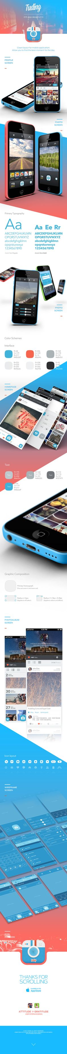 TUDING iOS App Design on Behance