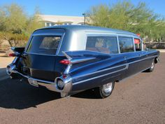 1959 Cadillac S Hearse/Ambulance Comb. - Love it!
