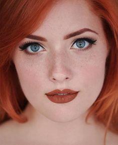 Beautiful Face Makeup In 2019 Redhead Makeup Beautiful Stunning Redhead, Beautiful Red Hair, Gorgeous Redhead, Red Hair Woman, Woman Face, Redhead Makeup, Makeup For Redheads, I Love Redheads, Redhead Girl