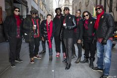 Jimmy and The Roots pre-parade
