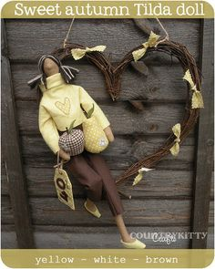 tilda autumn doll by countrykitty, via Flickr