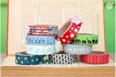 Oh Say Can You Washi Tape 1.50 ea at Pick Your Plum.com