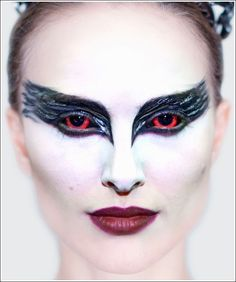 Black Swan makeup designed by Judy Chin