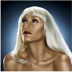 Gwen Stefani by Jill Greenberg Hollaback Girl Gwen Stefani, Gwen Stefani Music, I Heart Hair, Jill Greenberg, Flawless Face, Portrait Poses, Portraits, Dream Hair, Vanessa Hudgens
