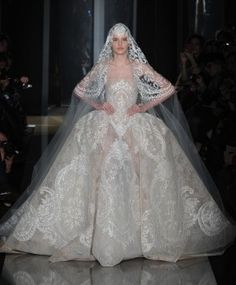 Bridal Couture: Elie Saab Spring 2013 / Photo by Anthea Simms