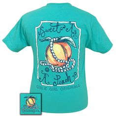 Sweet Peach! This tee is a classic fit, pre-shrunk jersey knit tee, made of 6-ounce 100% cotton.