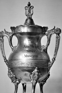 Share us with your friends! Digital Museum, Decorative Bells, Silver Plate, Victorian, Vase, American, Friends, Artist, Photography