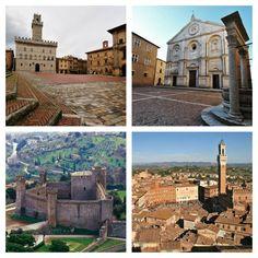 A trip to Siena, Montepulciano, Montalcino and Pienza