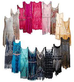 1920's dresses!