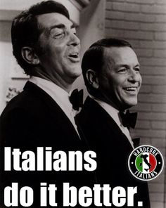 Italians Do It Better ~ Dean Martin, Frank Sinatra